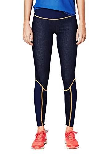s.Oliver ACTIVE Damen 2H.802.75.7229 Sporthose, Blau (Blue Denim Stretch 58z8), 34 (Herstellergröße: XS)