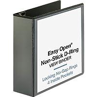 """Business Source 4"""" Locking D-Ring View Binder [並行輸入品]"""