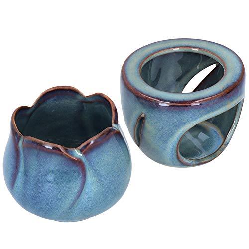 Forno a combustione di aromi, forno a olio essenziale in ceramica di alta qualità, aspetto squisito Robusto e durevole Capacità 180 ml per camera da letto casa