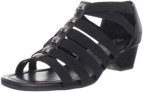 Bella Vita Women's Paula II T-Strap Sandal,Black,5.5 B US