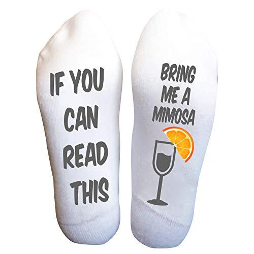 Mimosas Socks Women's Breakfast Funny Birthday Gift