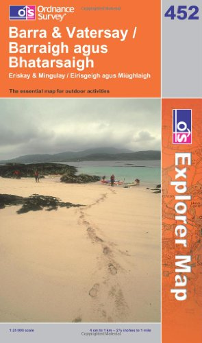 OS Explorer map 452 : Barra & Vatersay / Barraigh agus Bhatarsaigh