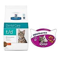 Hill's Prescription Diet Feline T/d Dental Care 1.5kg - Chicken Enriched And Complete Dietetic Food ...
