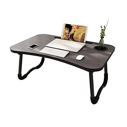 Estaciones de Trabajo informáticas Escritorio para portátiles, Mini Mesa de Cama portátil, Escritorio portátil, Mesa de Desayuno, Mesa de café Sofá es Adecuado para Dormitorio, Sala de Estar, Espacio