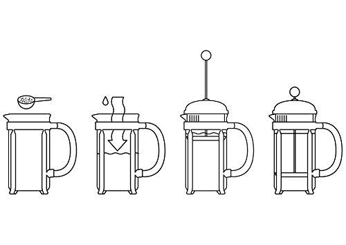 ボダム CHAMBORD フレンチプレスコーヒーメーカー 0.35L 1923-16J