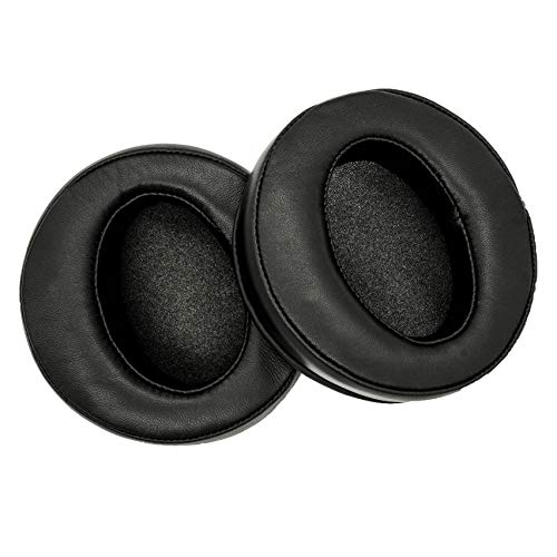 Upgrade Sheepskin Ear Pads Compatible with Fostex TH-600 TH-610 TH-900/900MK2 T50/T40/T20RP E-MU Teak Massdrop TH-X00 TR-X00 Denon AH-D2000/D5000/D7000 AH-D5200/D7200/D9200 and Some ZMF Headphones