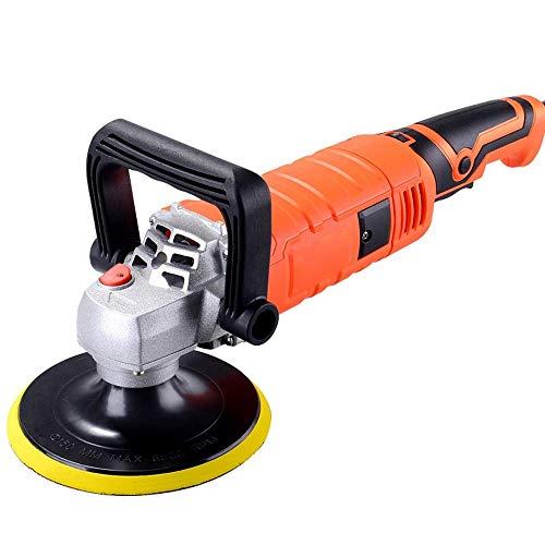 YWAWJ 220V Grinder Mini-Poliermaschine, Autopoliermaschine elektrische Wachsmaschine Holzboden Möbel Schönheit Wartungstools Verstellbare Geschwindigkeit Schleifen Waxing Power Tools