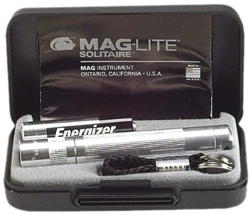 Maglite Boxed MGLK3A102 AAA Solitaire Torch - Silver