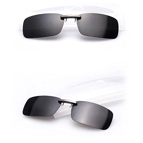 BINGHONG3 - Gafas de Sol polarizadas para Hombre y Mujer Bkgy
