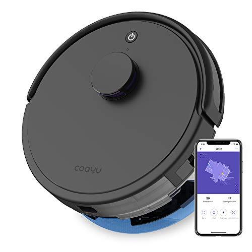 COAYU CL512 Robot Vacuum with mop,LDS Laser Navigation, Alexa App...
