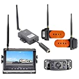 Haloview 7'' 720P Wireless Range Dominator System RD7 MAX