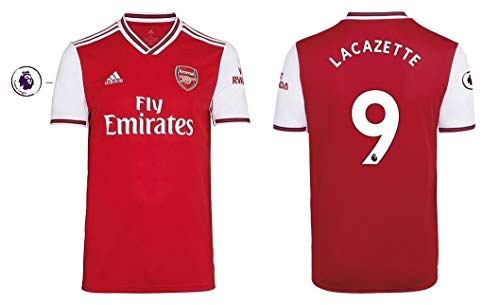 Arsenal Trikot Herren 2019-2020 Home PL - Lacazette 9 (XL)