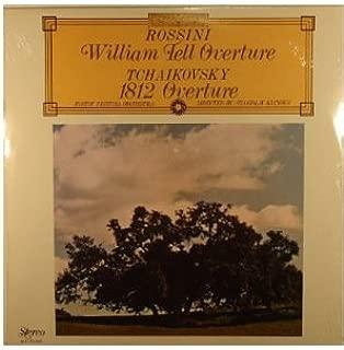 ROSSINI: WILLIAM TELL OVERTURE - vinyl lp. TCHAIKOVSKY: 1812 OVERTURE