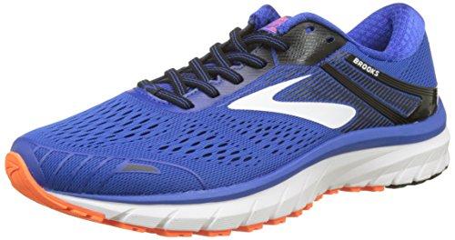 Brooks Adrenaline GTS 18, Scarpe da Running Uomo, Blu (Blue/Black/Orange 420), 42 EU