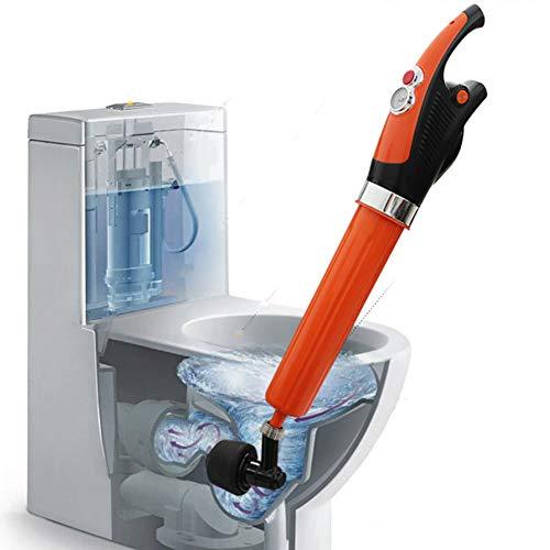 Cacoffay Desbloqueador de drenaje, potente equipo de dragado neumático eléctrico. Limpiador de chorro de drenaje de aire de alta presión de alta eficiencia, aplicado a
