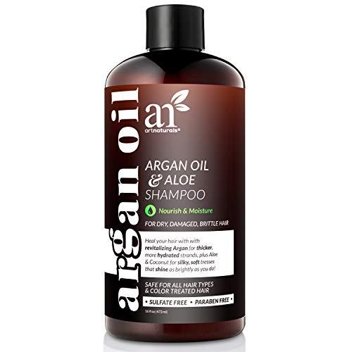 ArtNaturals Organic Moroccan Argan-Oil Shampoo - (16 Fl Oz / 473 ml) -...