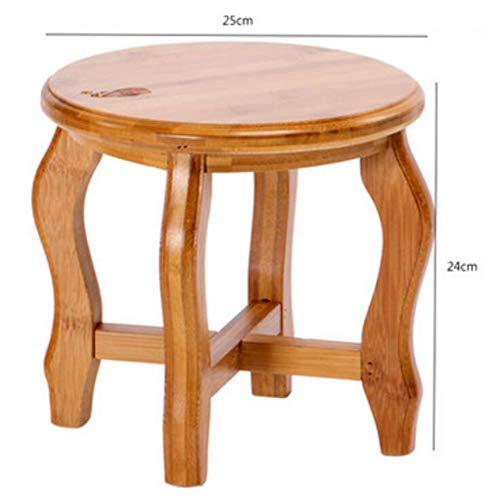 Kruk kleine bankje kleine vierkante kruk kruk kruk stoel massief houten stoel lage schemel kinderen eetkamerstoel Schemel creatief