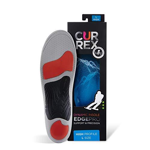 CURREX EdgePro Sohle High Profile. Deine neue Dimension des Carving. Performance Einlegesohle für Ski, Langlauf oder Snowboard. Gr EU 42-44