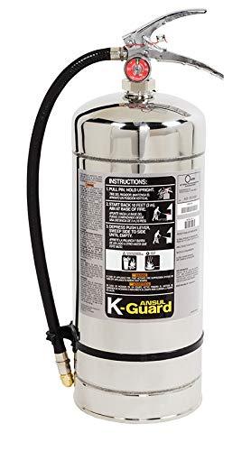 Ansul 6 Liter K-Guard Wet Chem Fire Ext. w/Wall Hanger - 434909