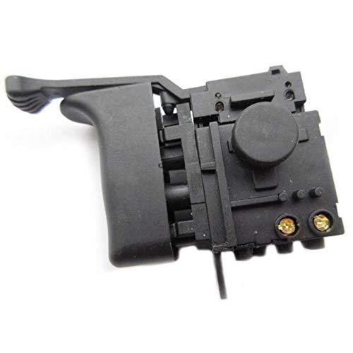 AMOYER Taladro Martillo eléctrico Interruptor de Control de Velocidad para Makita hr2453 / dp4010 / dp4011 Accesorios para Herramientas Hr2450 / Potencia