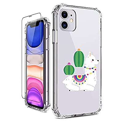 WGXQMC Clear Casefor iPhone11 6.1 inch Built-in...
