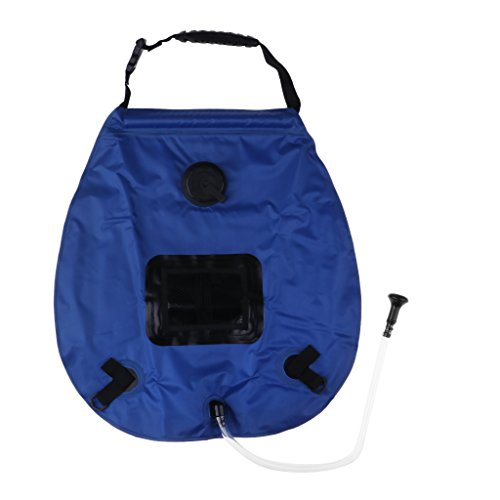 #N/A Wasser Taschen Solarheizungs Duschentasche Im Freien 20L Mit Griff Für