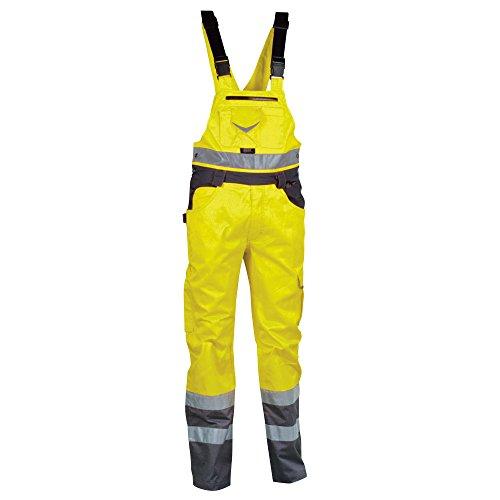 Helly Hansen Workwear, 40-00V02000-54, Cofra alta visibilità Salopette BRIGHT pantaloni da lavoro V020-00 di colore giallo segnale Gr. 54