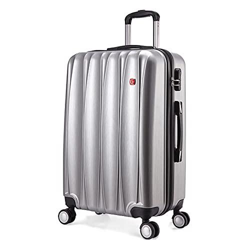 Universal Wheel Boarding case, Business Valigia, Trolley case, Bagagli Password Box 20/24/28 Colore: Blu scuro, Rosa rosso, Argento Grigio