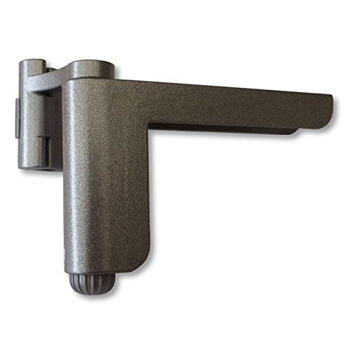 Mini-Türschließer silber Aufsteck Türschließer Mini-Türschließer Zimmertürschließer