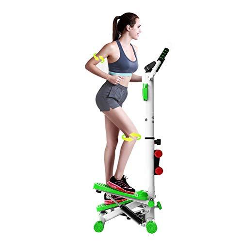 DODOBD Mini Stepper, Réglable Fitness Stepper avec Guidon Mini Stepper Mini Stepper avec...