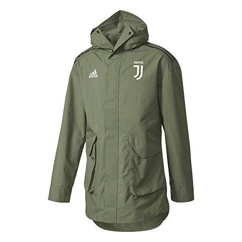 adidas Juve EU Allw Jk Chaqueta-Línea Juventus de Turín, Hombre, Verde (verbas/Negro), XS