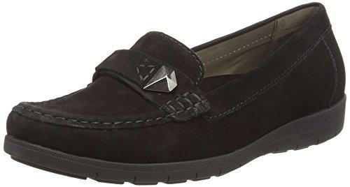 Gabor Shoes Damen Casual Mokassin, Schwarz (17 Schwarz), 38.5 EU