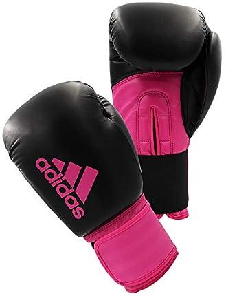 adidas Hybrid 100 Dynamic Fit - Guantes (Talla 38 g), Color Negro y Rosa