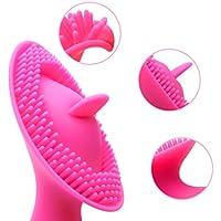 Lovey Angel Vibrador clítoris + lengua con movimiento pendulante+10 Modos +Sumergiable y Recargable + Masajeador Suave Blandito para Mujares + motor Inteligente+Cilicona de grado médico