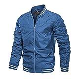 Mens Bomber Jacket Slim Fit Mens Light Jackets for Men Varsity Jacket Casual Jacket Windbeaker Jacket Letterman Jacket Hiking Coat Light Coat