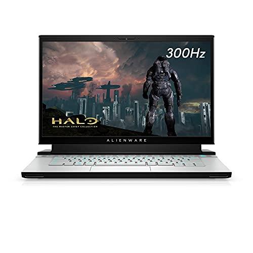 Alienware m15 R3 Gaming Laptop, 15.6 inches 300hz 3ms FHD Display, Intel Core i7-10th Gen, Nvidia GeForce RTX 2080 Super 8GB GDDR6, 1TB SSD, 32GB RAM, Lunar Light (Renewed)