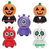 ✅ 16 GB * 5. Confezione da 5 pezzi. Modello di Halloween. Questo è il miglior regalo di Halloween per la famiglia e gli amici. ✅ Leggero e portatile. Il suo guscio in silicone assicura che sia impermeabile, resistente agli urti e alla polvere, e il c...