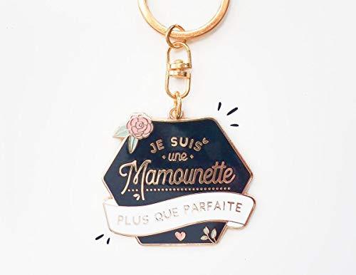 Porte clés Mamounette | Je suis une mamounette plus que parfaite | cadeau pour maman, fête des mères