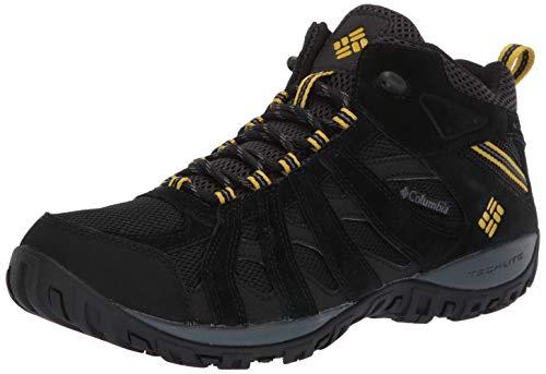 Columbia Men's Redmond Waterproof Mid Hiking Boot , Black, Gypsy, 10.5 D US