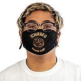 Naruto Anime Cartoon Ramen Shop Adult Black Face Mask