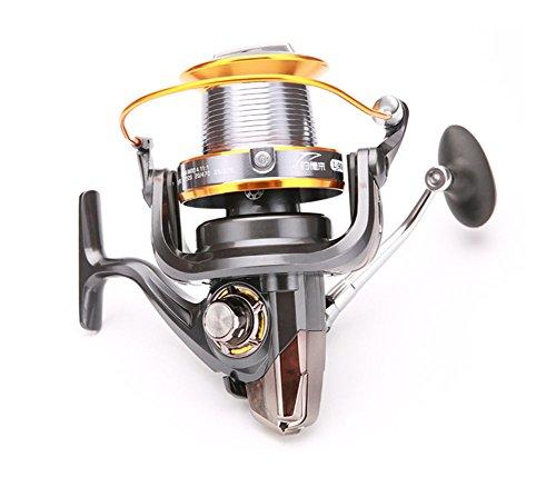 L.Atsain Carrete Para Caña De Pescar 3000-9000 Gapless Spin