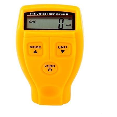 Mini LCD Display Digitale Strumento per Test di Spessore del Rivestimento di Vernice per Auto VIFERR Misuratore di Spessore della Vernice