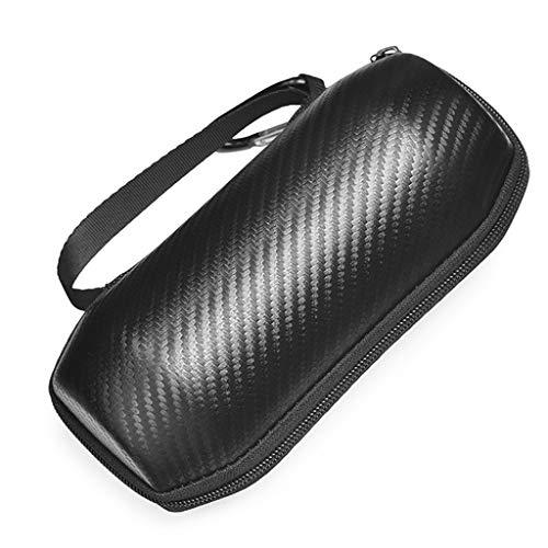kdjsic Bolsa de Almacenamiento de Fibra de Carbono Estuche de Transporte de Viaje Caja de protección para Altavoz Bluetooth inalámbrico J-BL Flip Essential