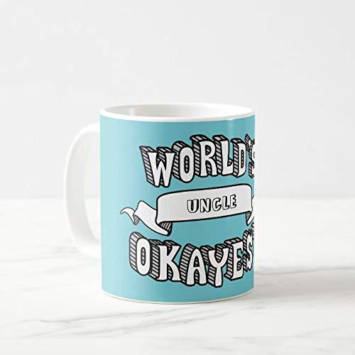 Taza de café de 325 ml, con texto divertido en blanco, para té, leche y té, taza de cerámica para la oficina, regalo novedoso con caja