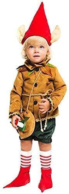 Fancy Me Italienische Herstellung Deluxe Baby &ltere Jungen Mittelalterlich Pixie Elfe Halloween Kostüm Kleid Outfit 0-6 Jahre