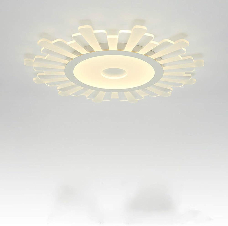 Bwlzsp 1 PCS Acryl ultradünne LED Runde Wohnzimmer Deckenleuchte warme Schlafzimmer Deckenleuchte AP6281618PY
