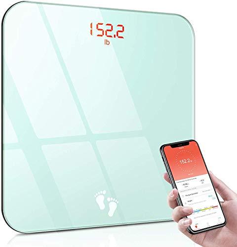 Cocoda Balance Pèse Personne, Balance Connectée Bluetooth Électronique Haute Précision, IMC Pèse Personnes avec Smartphone...