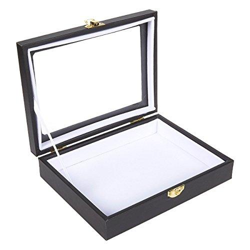Juvale Insect Display Case - Bug Box met glazen raam en veilige Riker Mount voor het verzamelen, 8 X 1.8 6 Inches