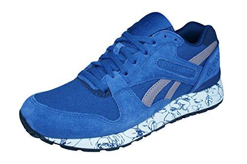 [リーボック] Classic GL 6000 Wrap Womens Sneakers/Shoes-Blue-24