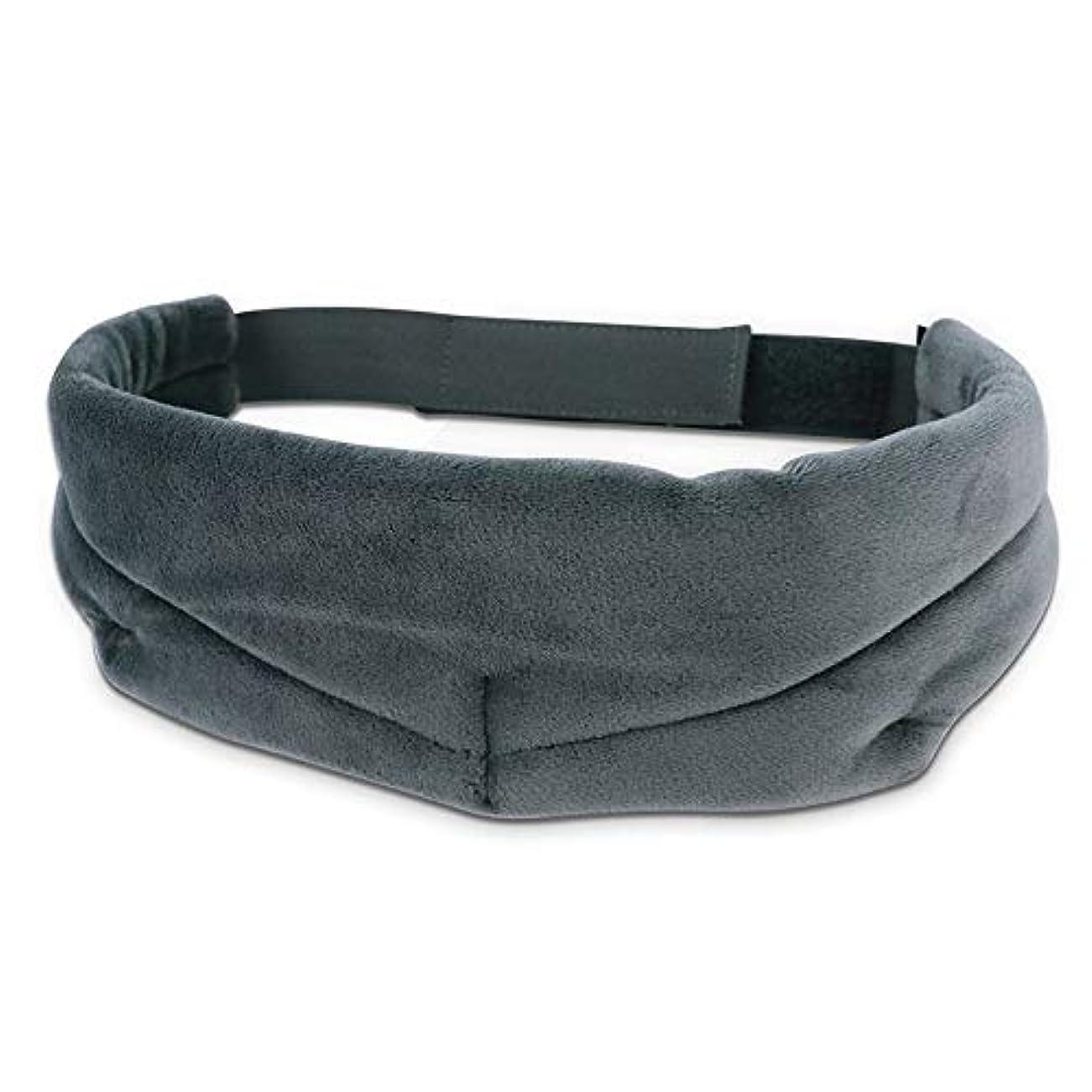 同性愛者繁栄より多いNOTE 目隠し用アイマスクの睡眠旅行用睡眠カバー睡眠用マスクベルベットの目柔らかい目のカバーヘッドバンド3色睡眠マスク